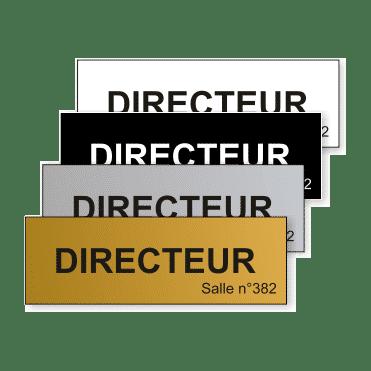 Plaque Plastique 15x5 - GTI France - Paris 11