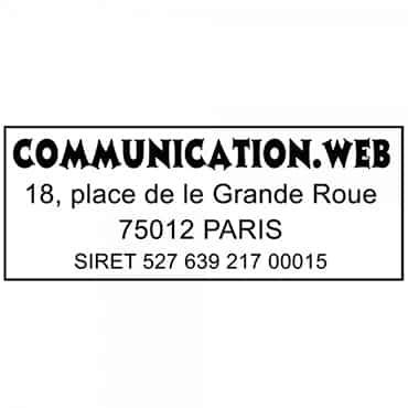 empreinte tampon 4912 Paris